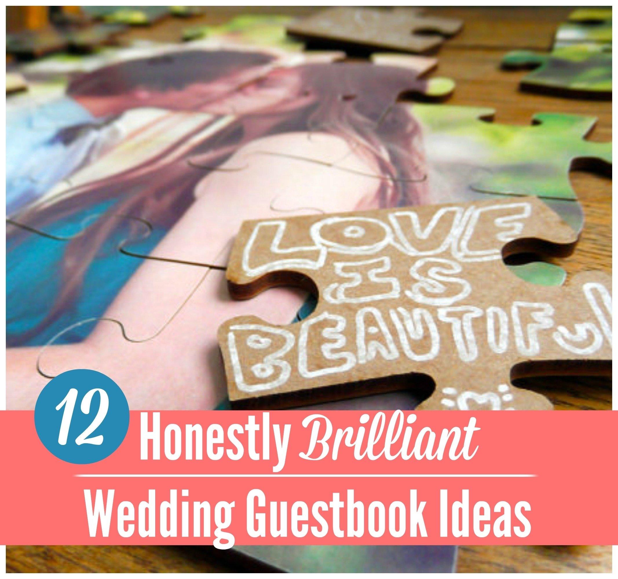 10 Attractive Unique Wedding Guest Book Ideas 15 insanely unique wedding guest book ideas craft paper scissors 2020