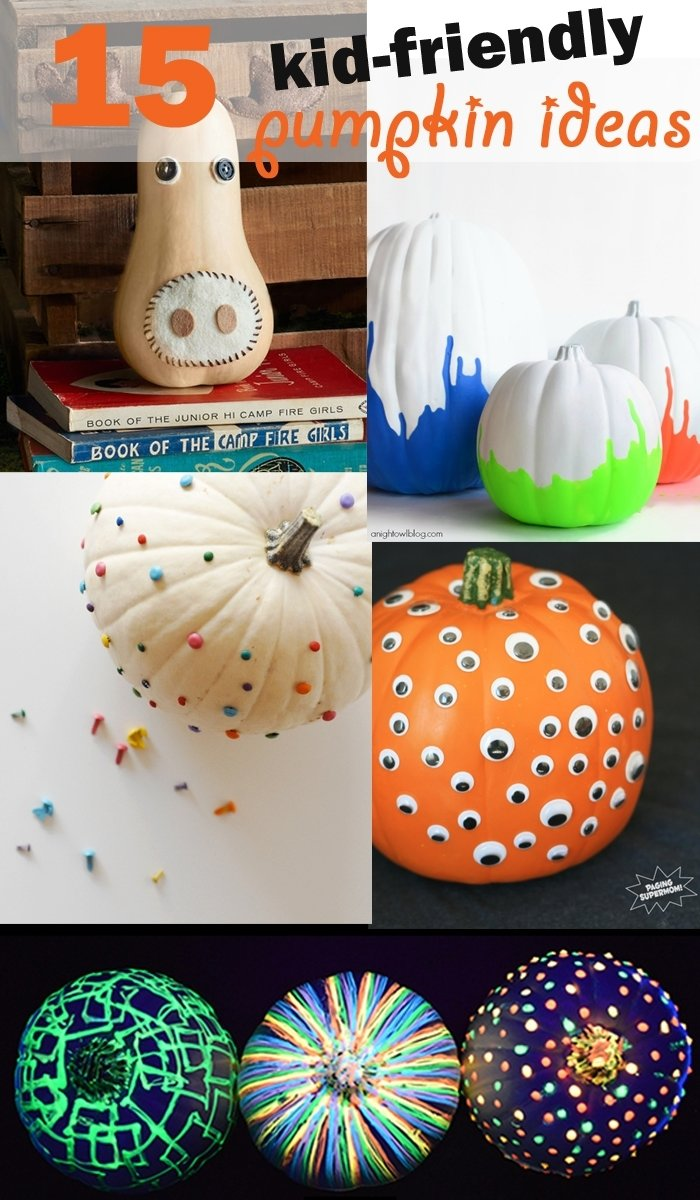 10 Stunning No Carve Pumpkin Decorating Ideas For Kids 15 kid friendly no carve pumpkin ideas california grown 1 2020