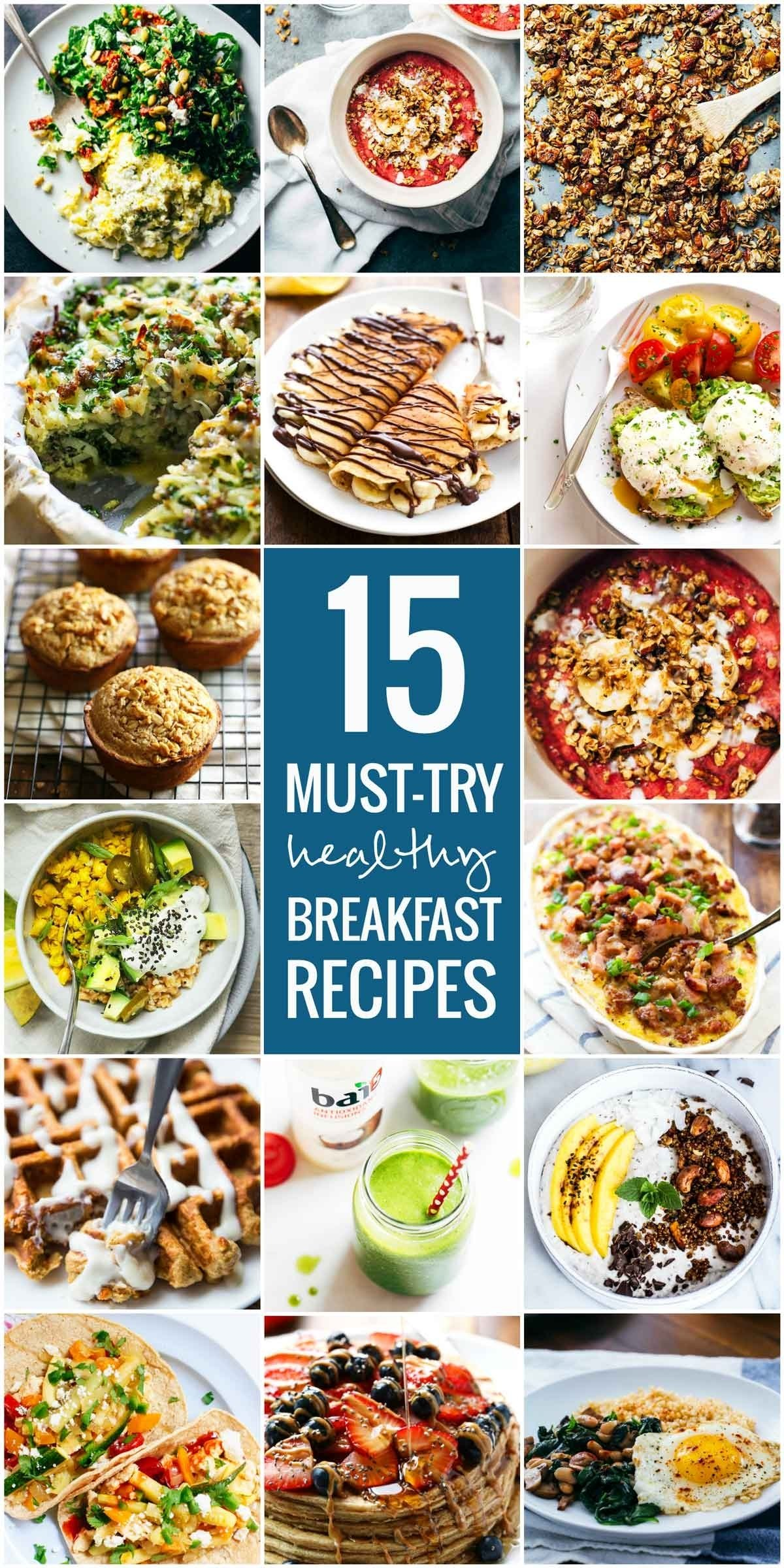 10 Attractive Healthy Breakfast And Lunch Ideas 15 must try healthy breakfast recipes pinch of yum 1 2020