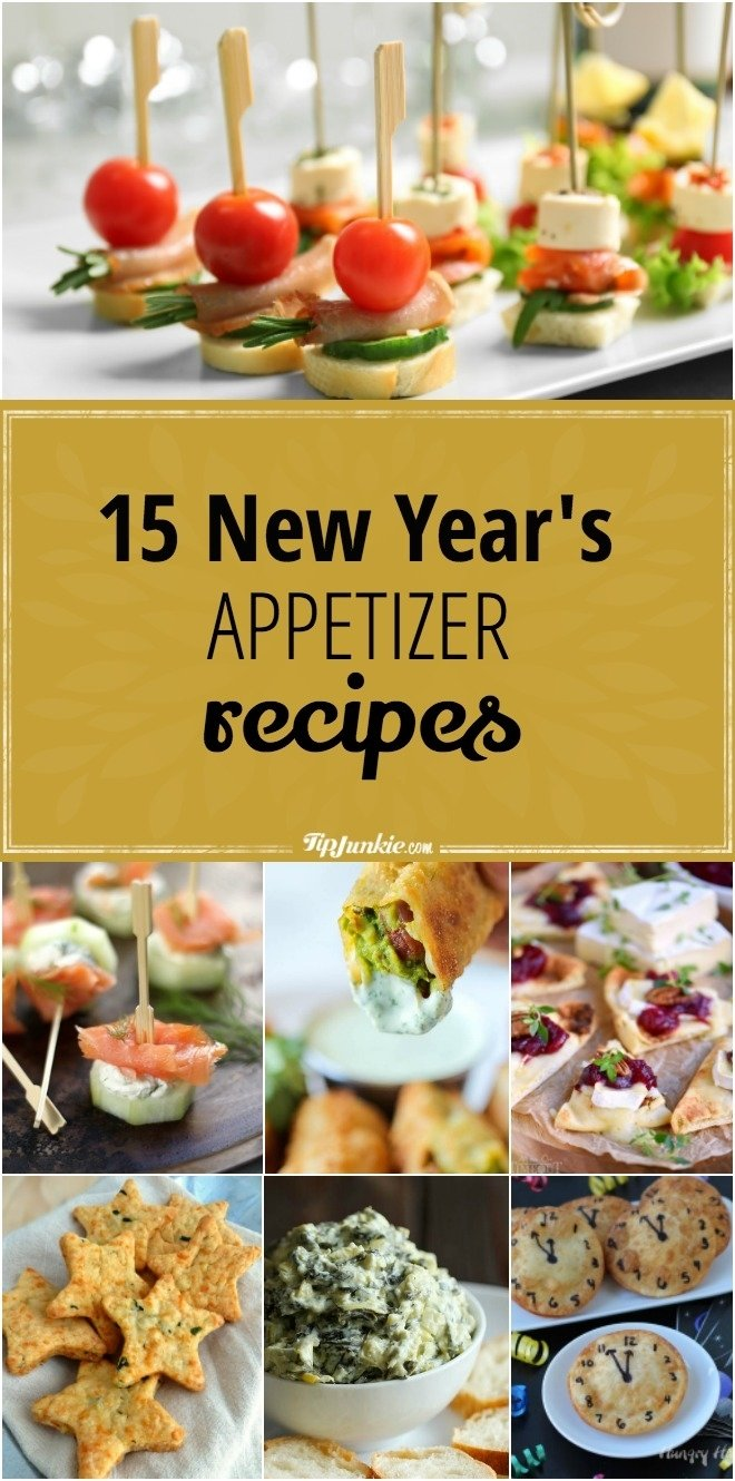 10 Fantastic New Years Eve Snack Ideas 15 new years appetizer recipes tip junkie 2021