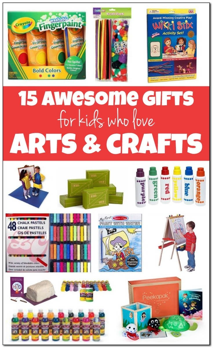 10 Beautiful Great Gift Ideas For Kids 15 of the best arts and crafts gifts for kids