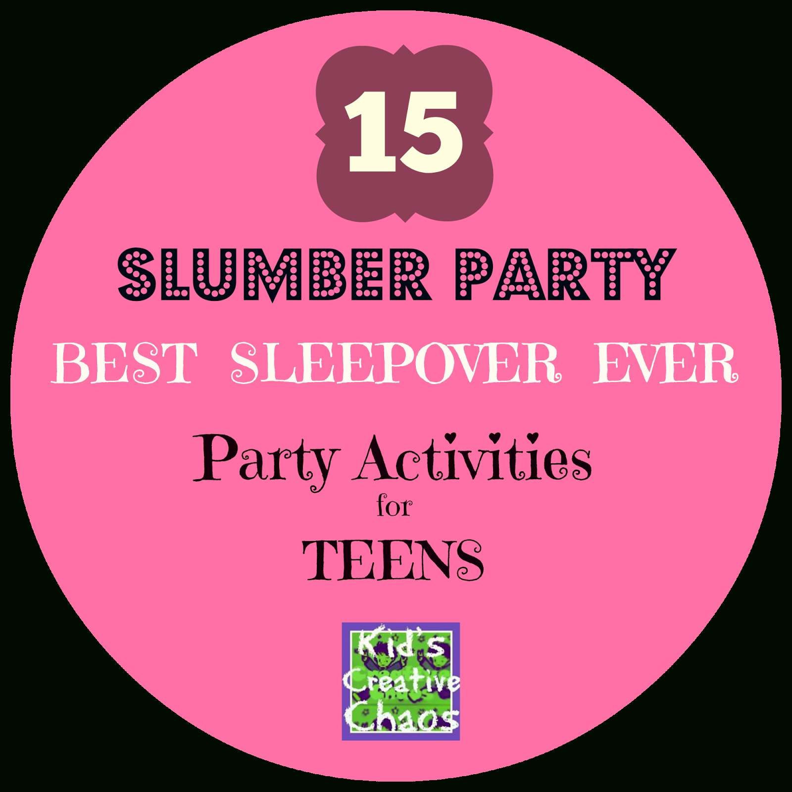 10 Fantastic Fun Ideas For A Sleepover 15 slumber party games and activities for teen girls best sleepover 1