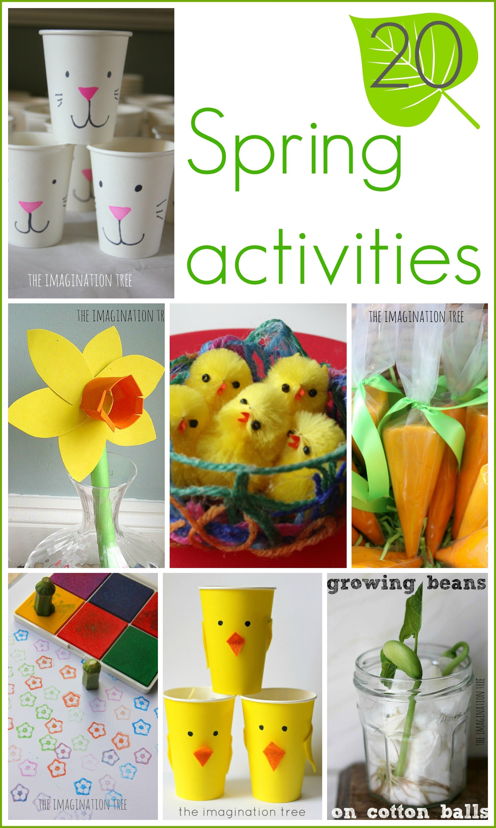 10 Most Recommended Spring Craft Ideas For Preschoolers 15 spring activities for kids the imagination tree 1 2021
