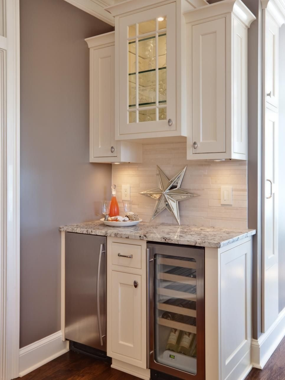 15 stylish small home bar ideas | hgtv, small spaces and stylish