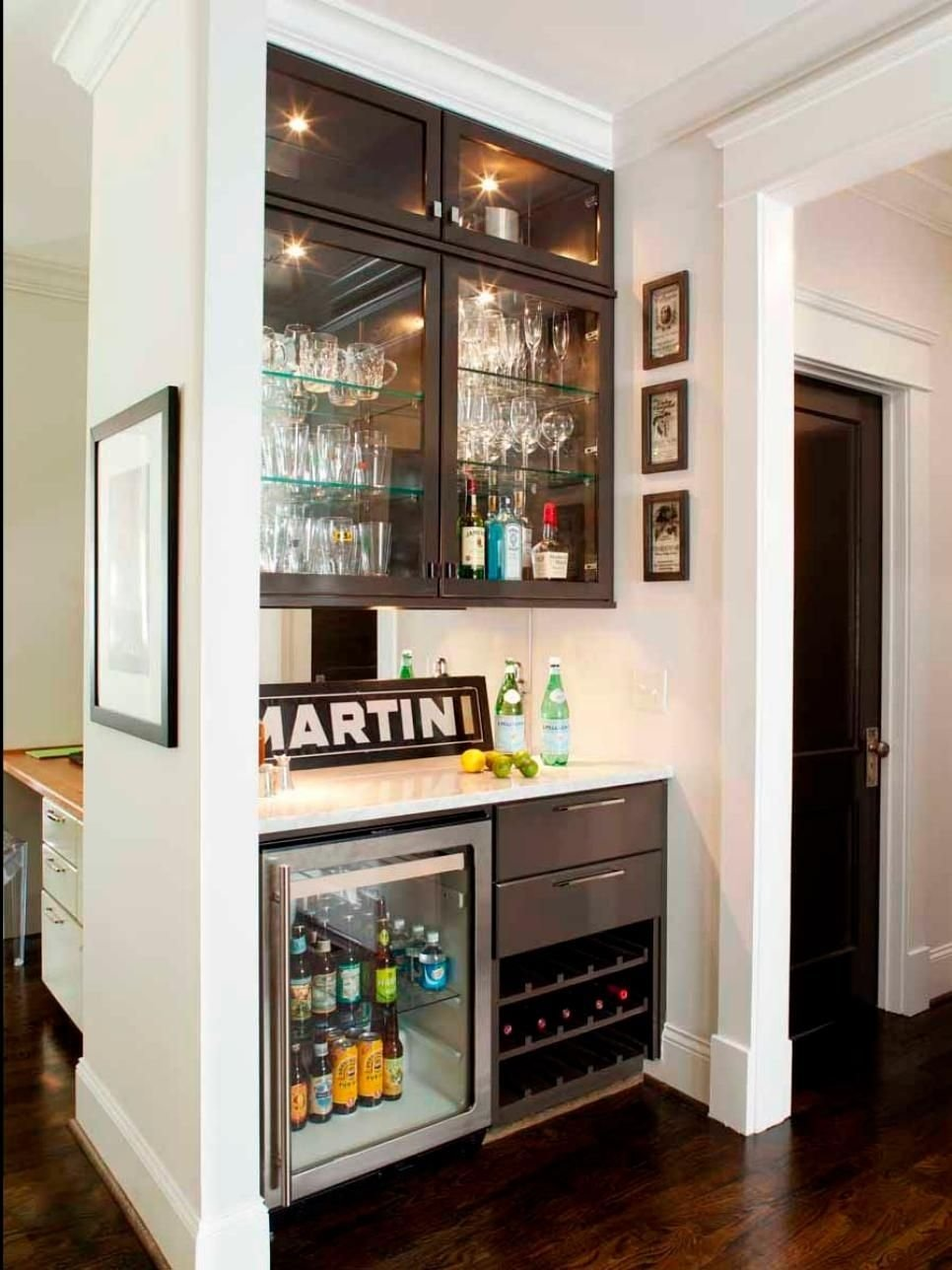 15 stylish small home bar ideas | remodeling ideas, hgtv and basements