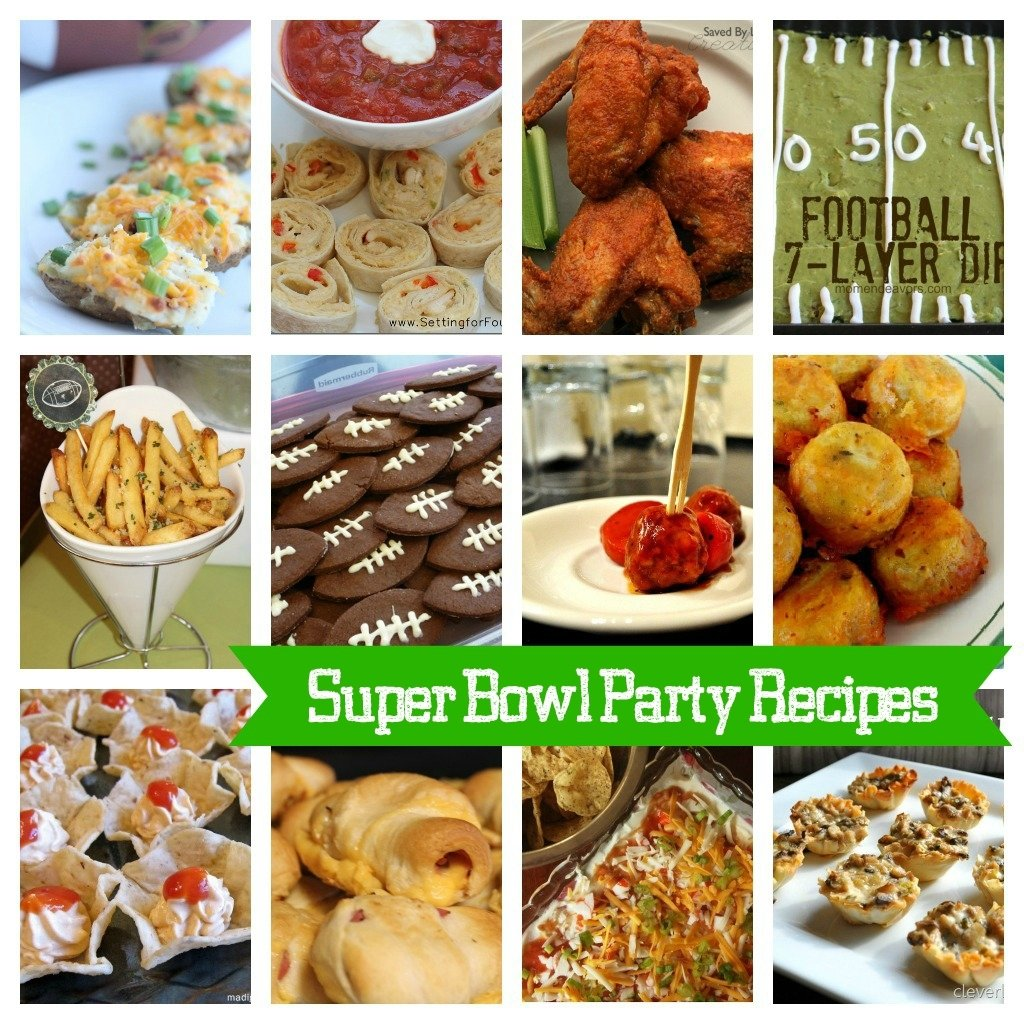 10 Pretty Super Bowl Party Snack Ideas 15 super bowl party recipes 4