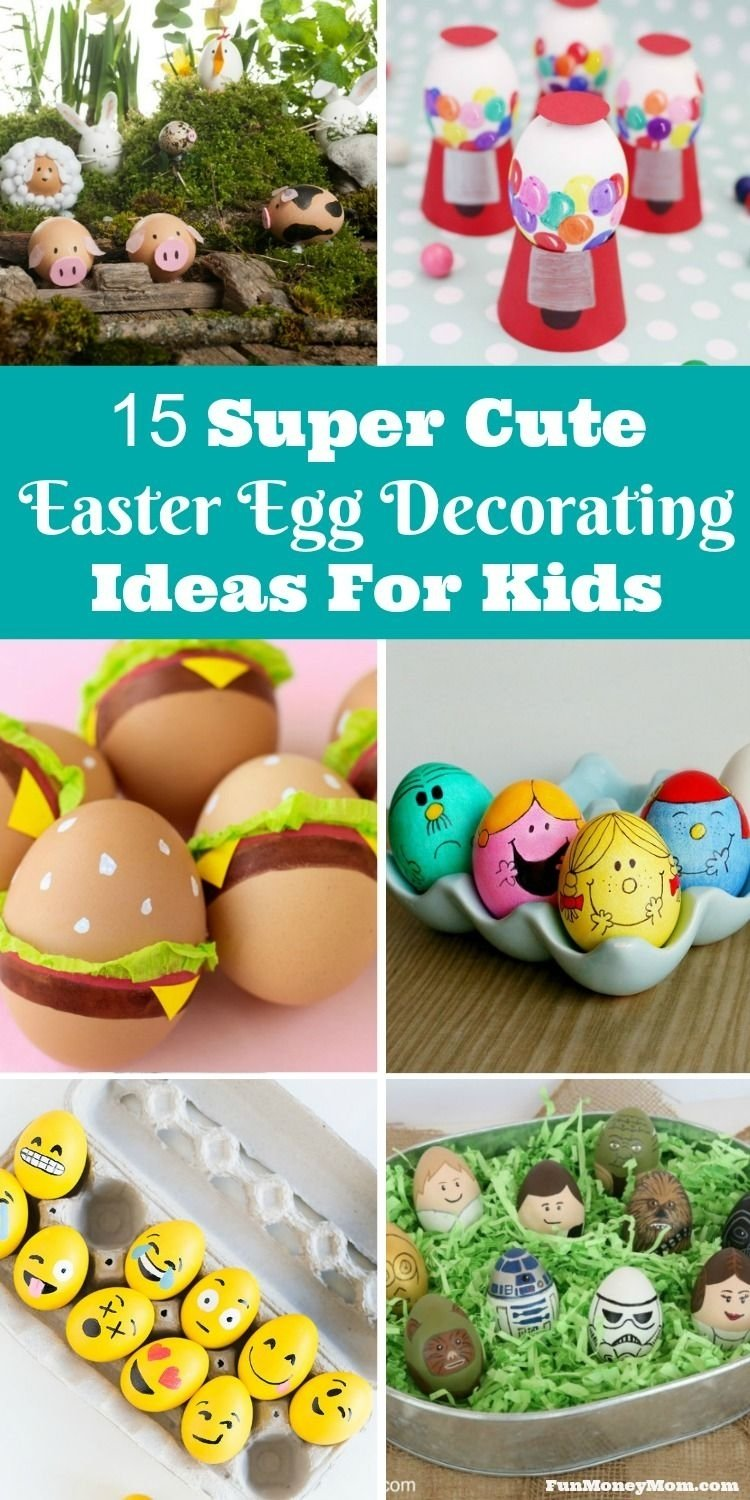 10 Cute Cool Easter Egg Decorating Ideas 15 super cute easter egg decorating ideas for kids paques craft 2020