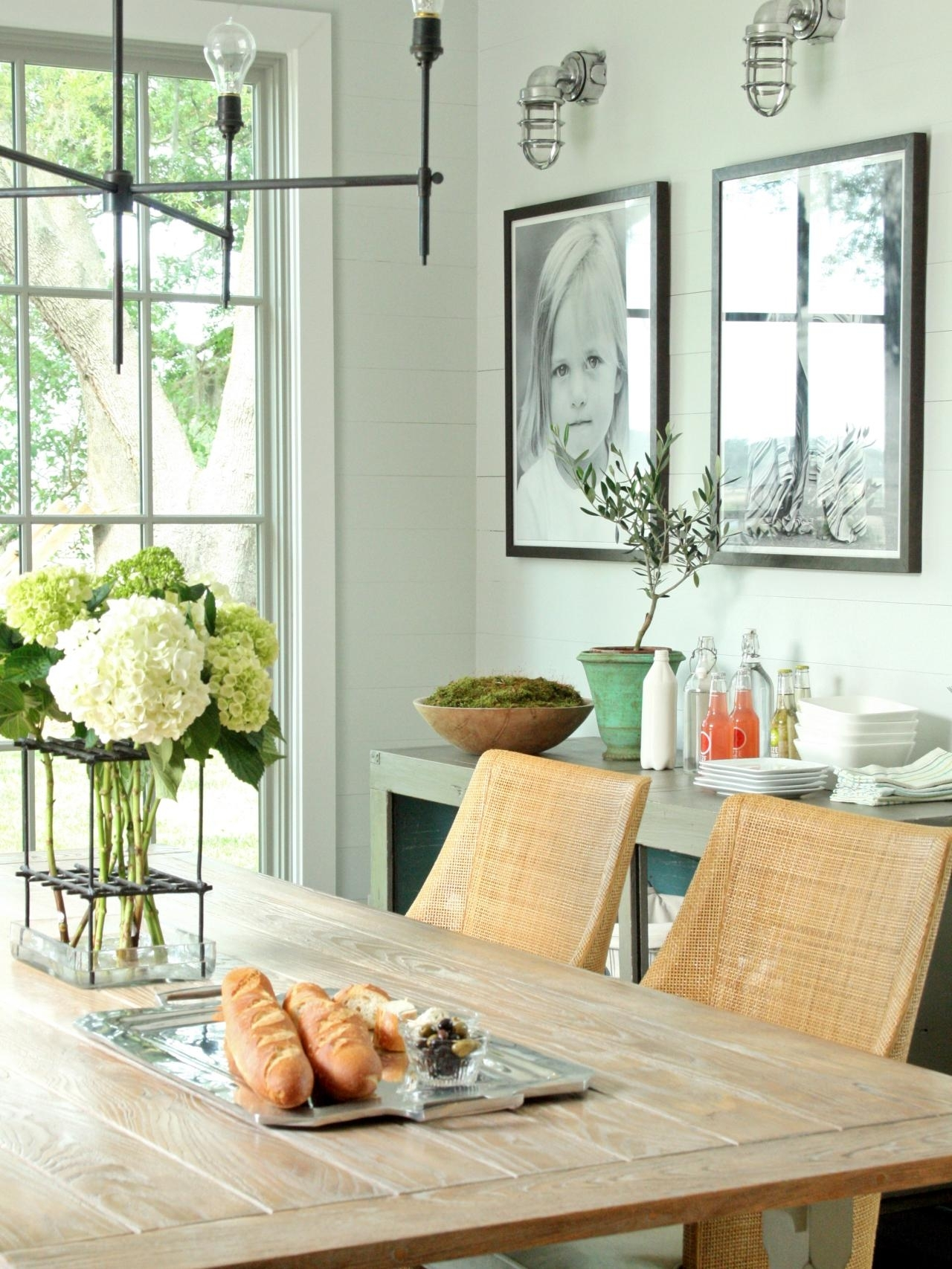 15 ways to dress up your dining room walls | hgtv's decorating