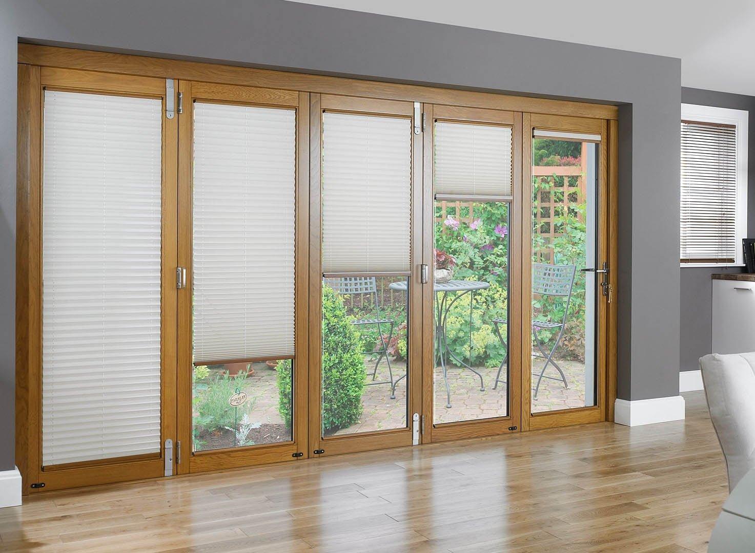 10 Elegant Window Treatment Ideas For French Doors 15 window treatments for sliding glass doors ideas hgnv 2020