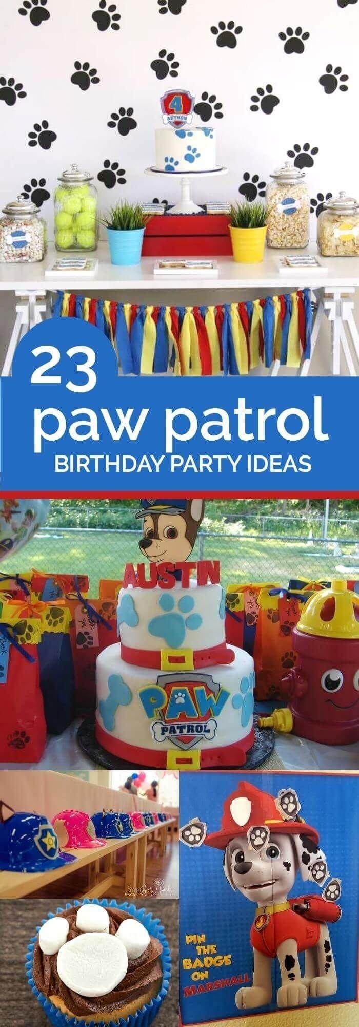 10 Stunning Kids Birthday Party Ideas Pinterest 159 best paw patrol party ideas images on pinterest party 2020