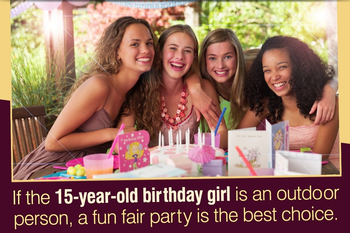 10 Unique Ideas For 15Th Birthday Party 15th birthday party ideas for girls simply fascinating 2020