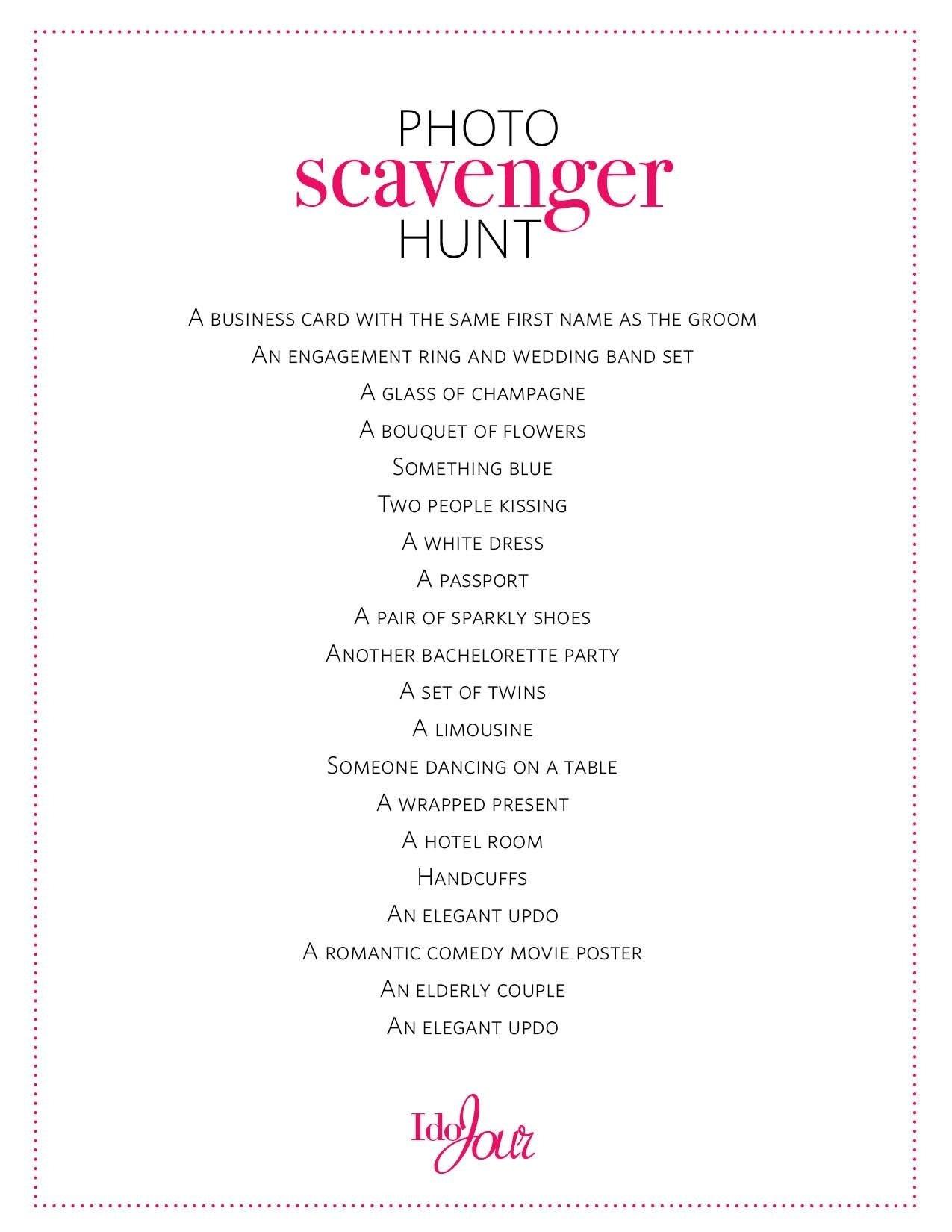 10 Famous Bachelorette Party Scavenger Hunt Ideas 16 bachelorette party ideas theyll talk about for years wedding 1 2020