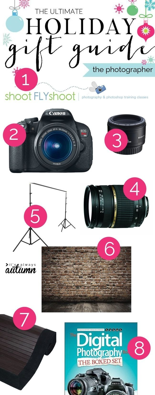 10 Fashionable Gift Ideas For Photography Lovers 16 best gifts for photography lovers images on pinterest camera