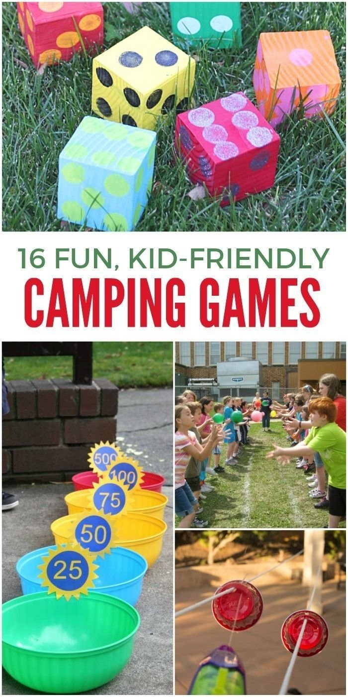 10 Gorgeous Fun Camping Ideas For Adults 16 of the funnest camping games for kids camping games gaming and 2020