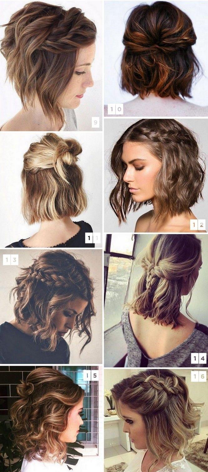 10 Elegant Cute Ideas For Short Hair 16 penteados para cabelos curtos populares no pinterest hair style
