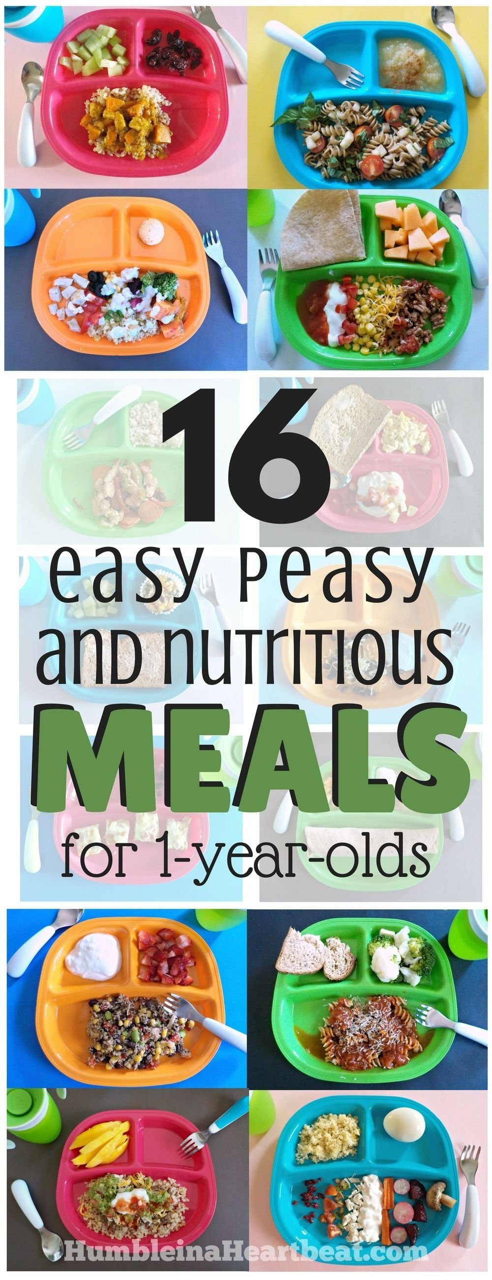 10 Fabulous 1 Year Old Meal Ideas 16 simple meals for your 1 year old that will make you supermom 8 2021