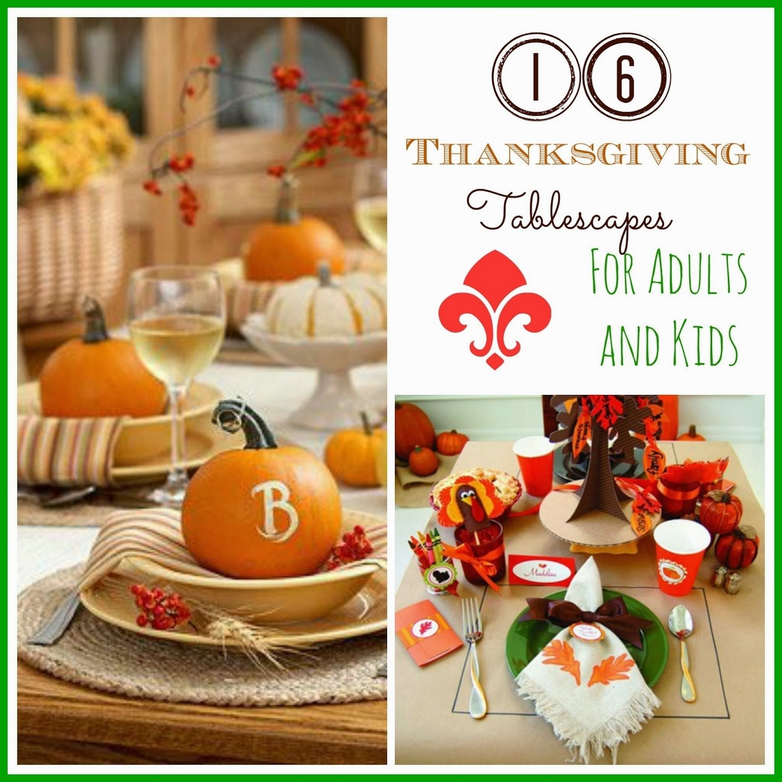 10 Unique Thanksgiving Craft Ideas For Adults 16 thanksgiving tablescape ideas for adults kids i dig pinterest 2021