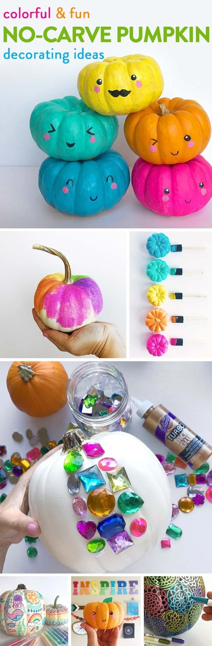 10 Most Recommended Pumpkin Decorating Ideas For Kids 1602 best spook tacular halloween ideas images on pinterest crafts 2020