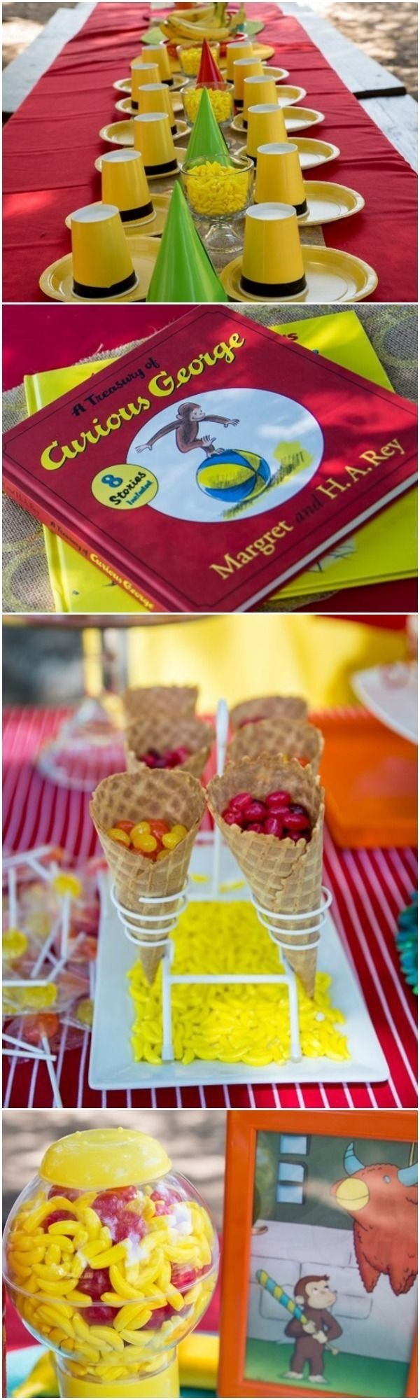 10 Awesome Curious George Party Favor Ideas 161 best curious george birthday party ideas images on pinterest 2020