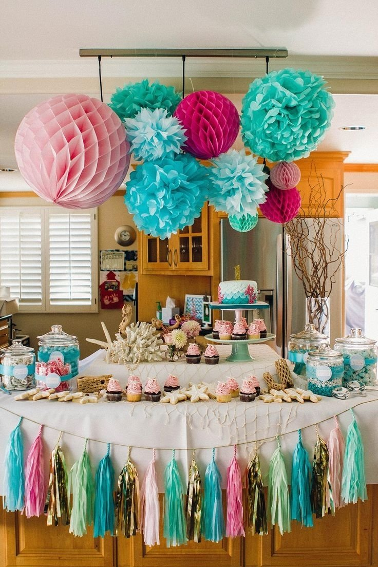 10 Best Birthday Party Decorations Ideas For Adults 163 Ocean Theme First Images On