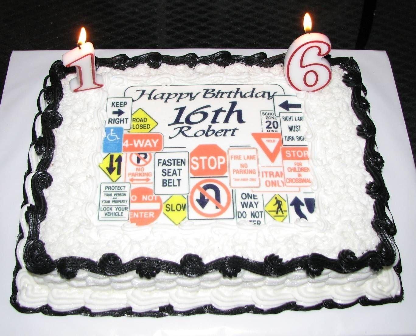 10 Trendy 16Th Birthday Ideas For Boys 16th birthday cake ideas for boys my next projects pinterest 1 2020