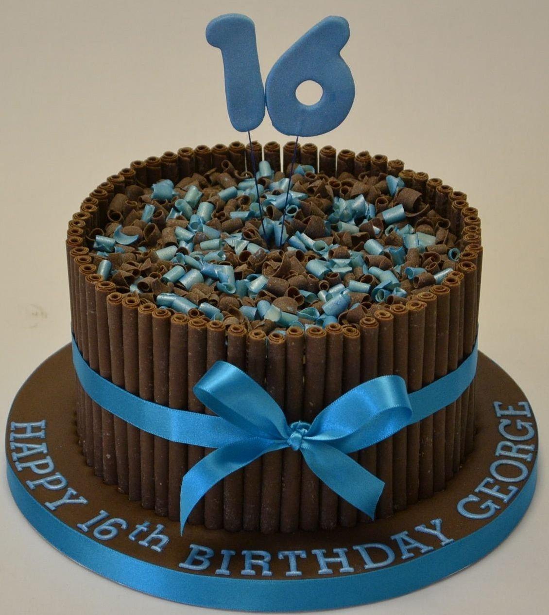 10 Ideal 16Th Birthday Cake Ideas For Boys 16th birthday cakes for boys 16th birthday cigarillo cake cake