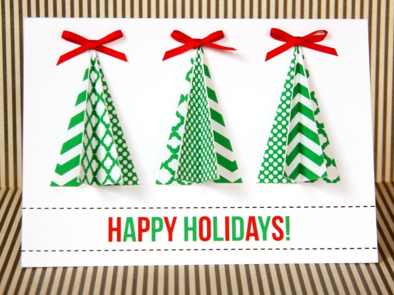10 Pretty Ideas For Homemade Christmas Cards %name 2020