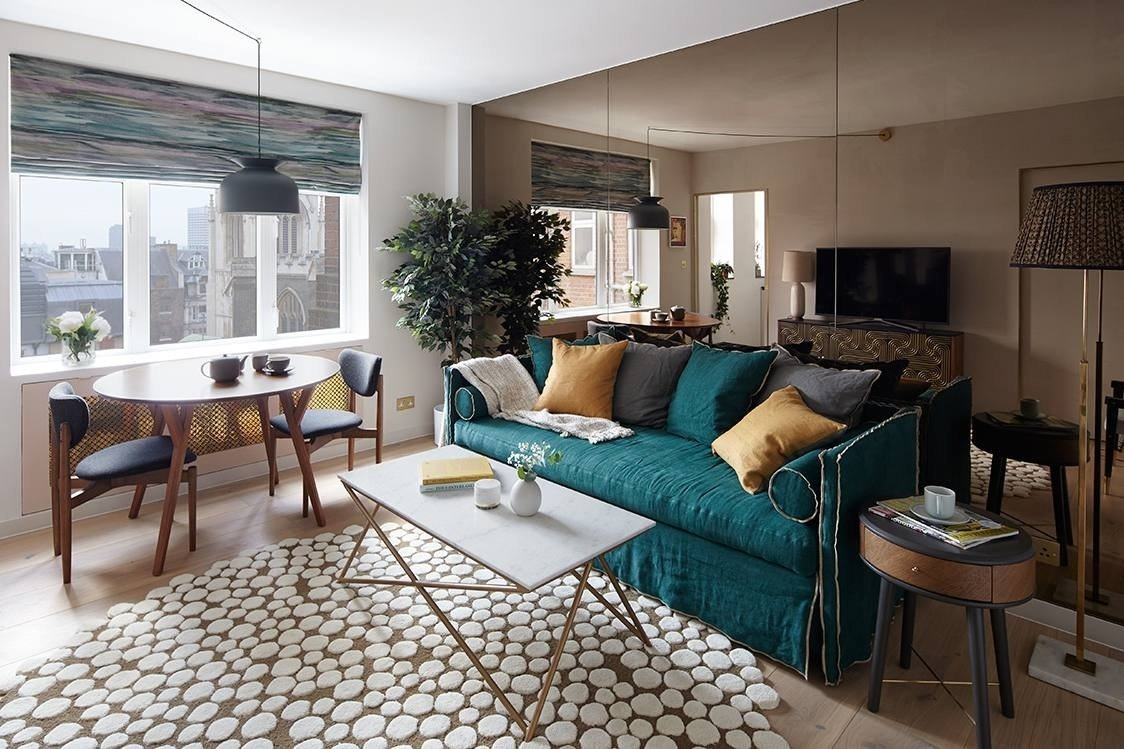 10 Fashionable Design Ideas For Small Living Rooms 17 beautiful small living rooms that work 15 2020