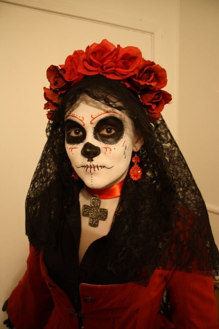 17 best dia de los muertos images on pinterest | halloween makeup