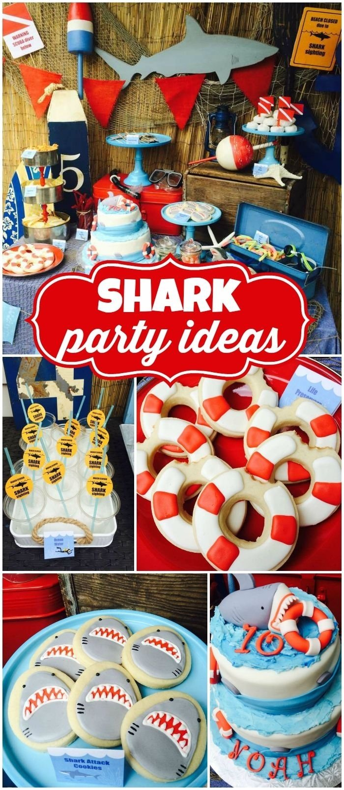 10 Cute Great Birthday Party Ideas For Adults 17 best shark week images on pinterest shark week great white 2021