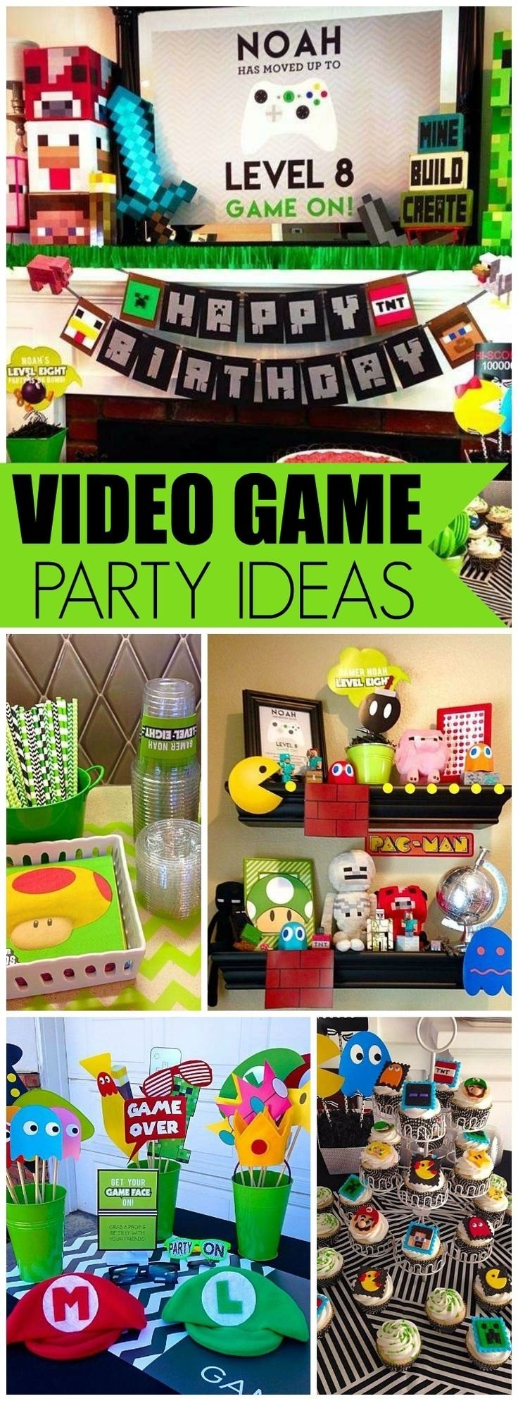 10 Lovely Video Game Birthday Party Ideas 17 best video game party images on pinterest birthdays video game 2020
