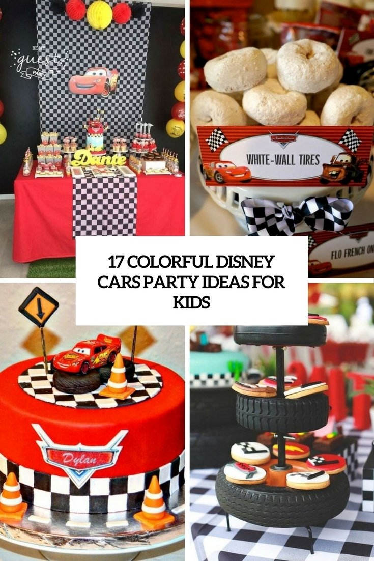 10 Stunning Disney Cars Birthday Party Ideas 17 Colorful For Kids Shelterness