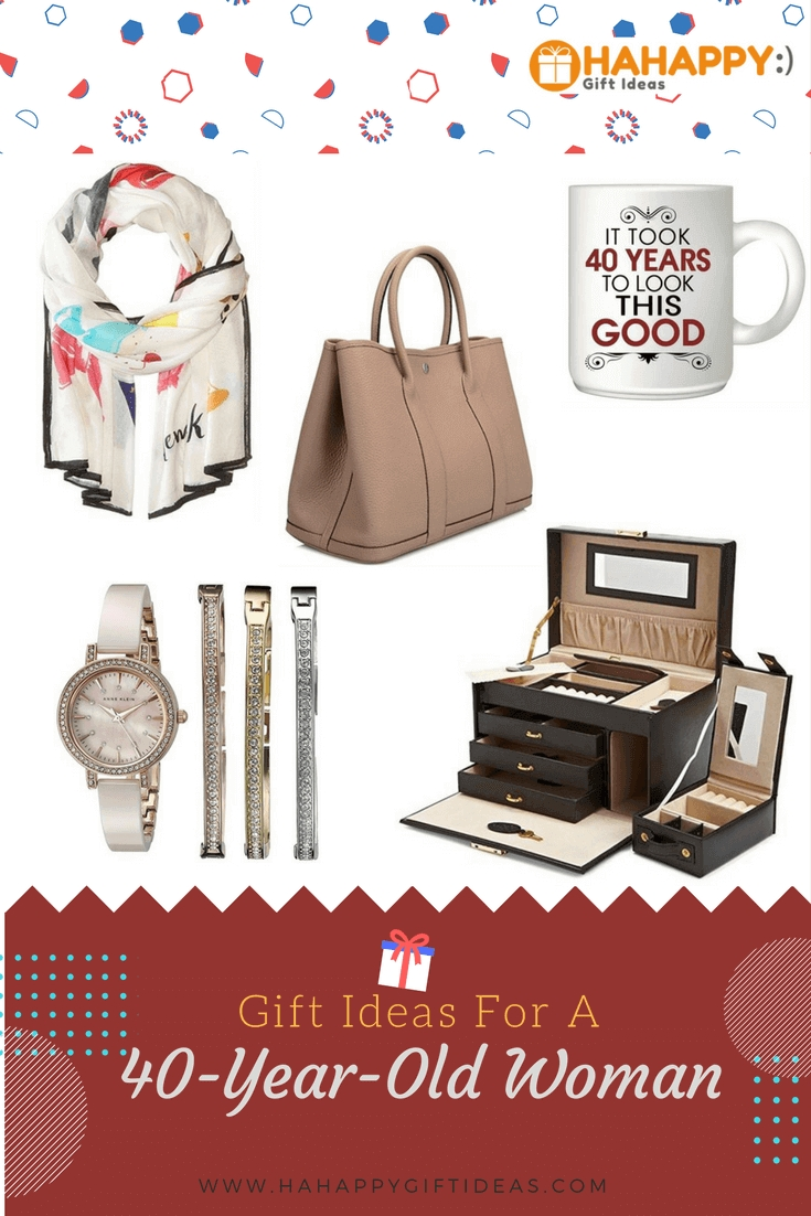 17 delightful gift ideas for a 40-year-old woman | hahappy gift ideas
