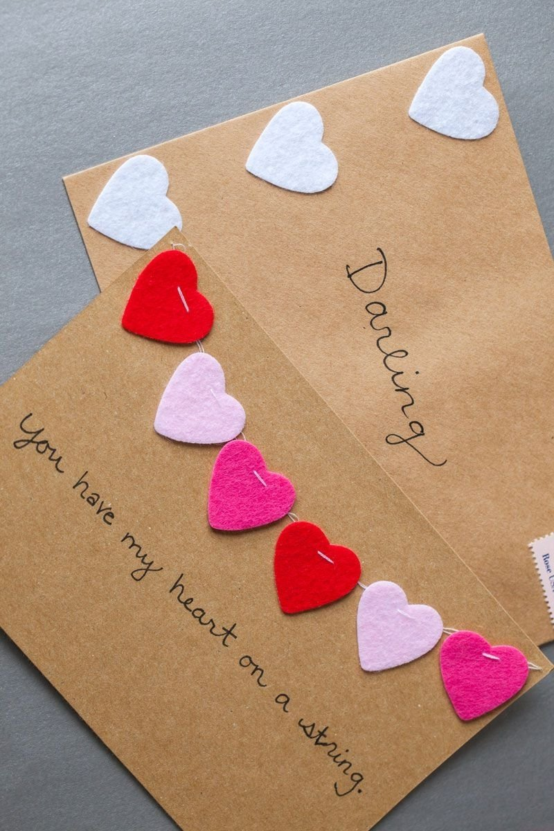 10 Lovely Cute Valentines Day Card Ideas 17 diy valentines day cards homemade ideas for valentines day cards 2020