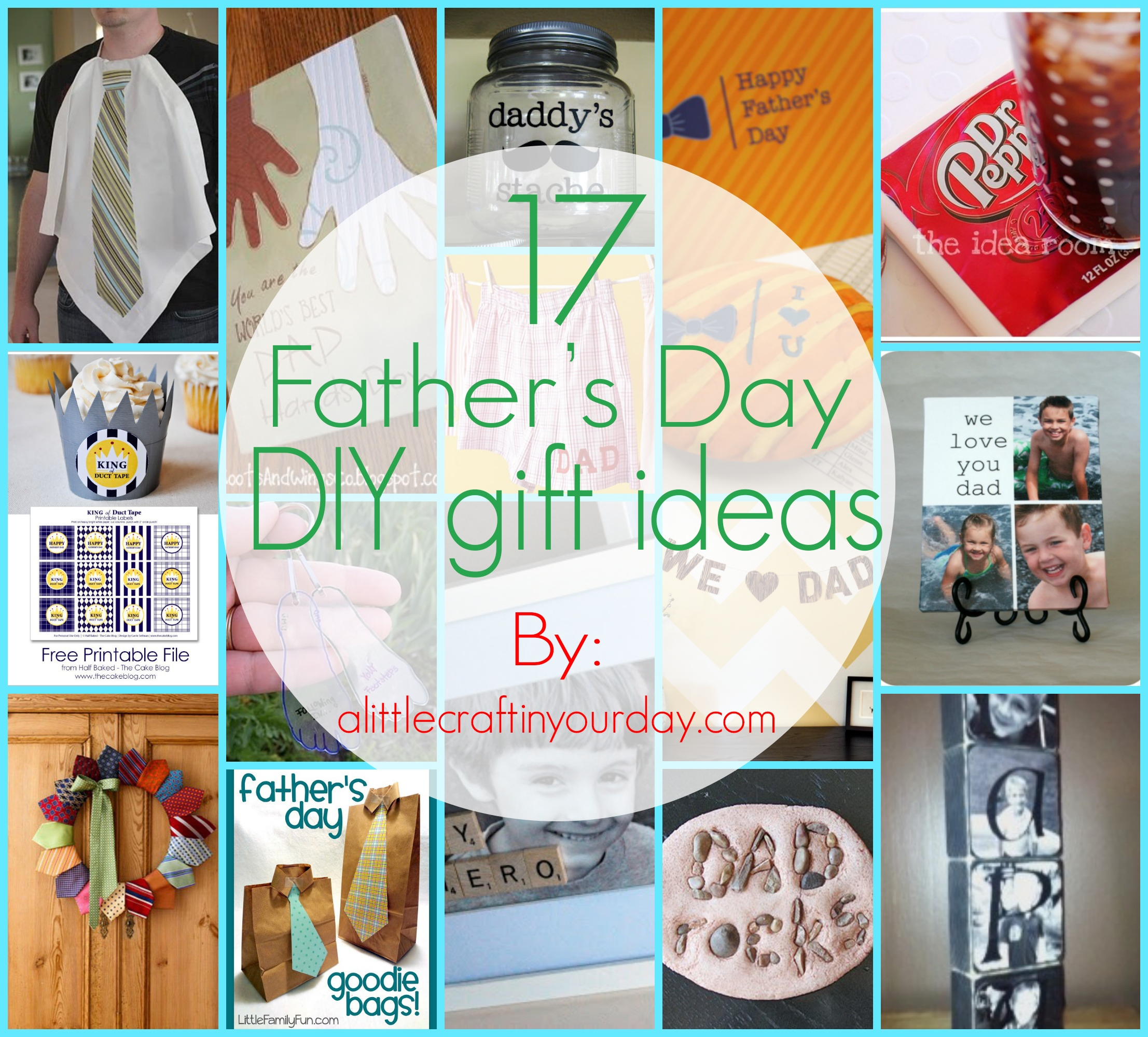 10 Perfect Fathers Day Homemade Gift Ideas 17 fathers day diy gifts a little craft in your day 1 2020