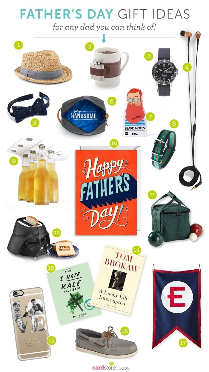 10 Famous Gift Ideas For New Dad 17 fathers day gift ideas for any dad you can think of cardstore 2021