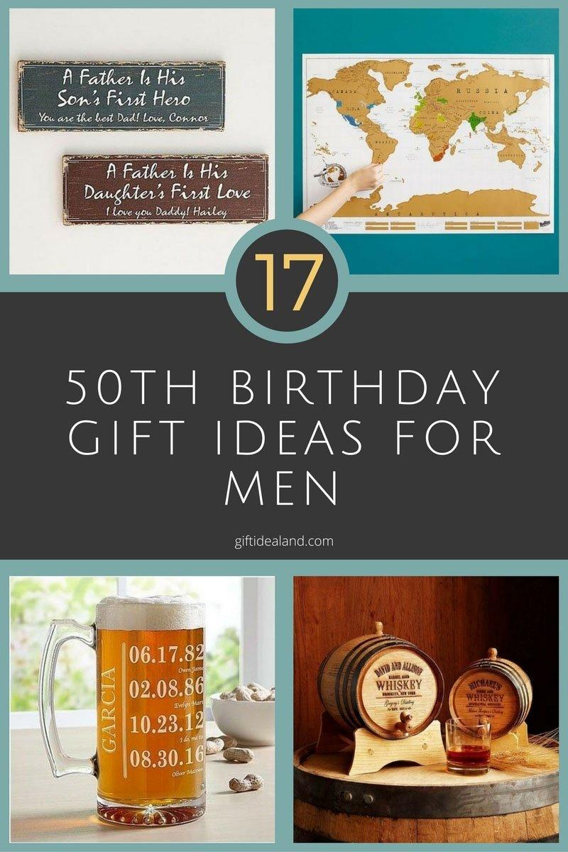 10 Cute 50Th Birthday Gift Ideas For Dad 17 Good 50th Him