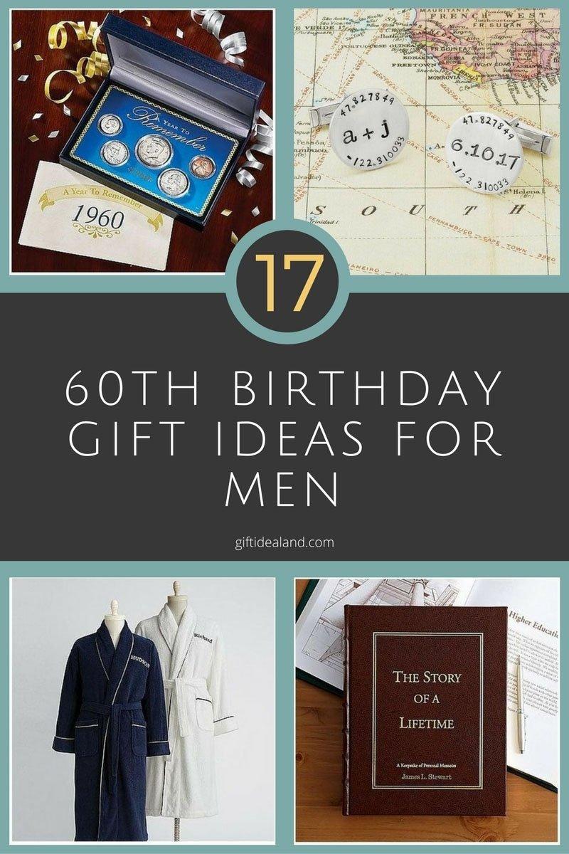10 Best 60Th Birthday Ideas For Men 17 good 60th birthday gift ideas for him 2 2020