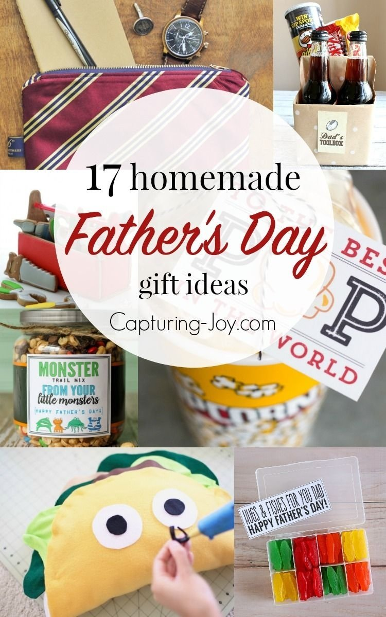 10 Great Gift Ideas For Fathers Day 17 homemade fathers day gifts dads homemade and gift 2020
