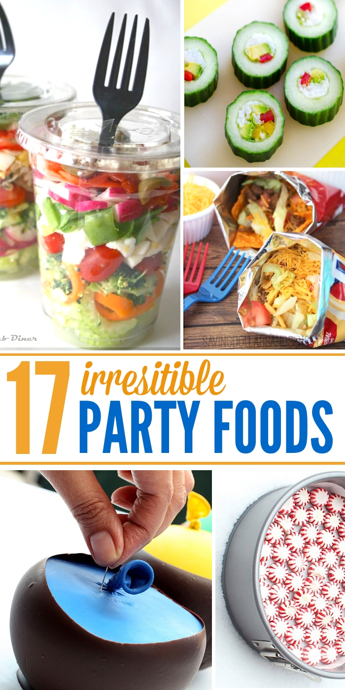 10 Famous Food Ideas For A Party 17 irresistible party food ideas