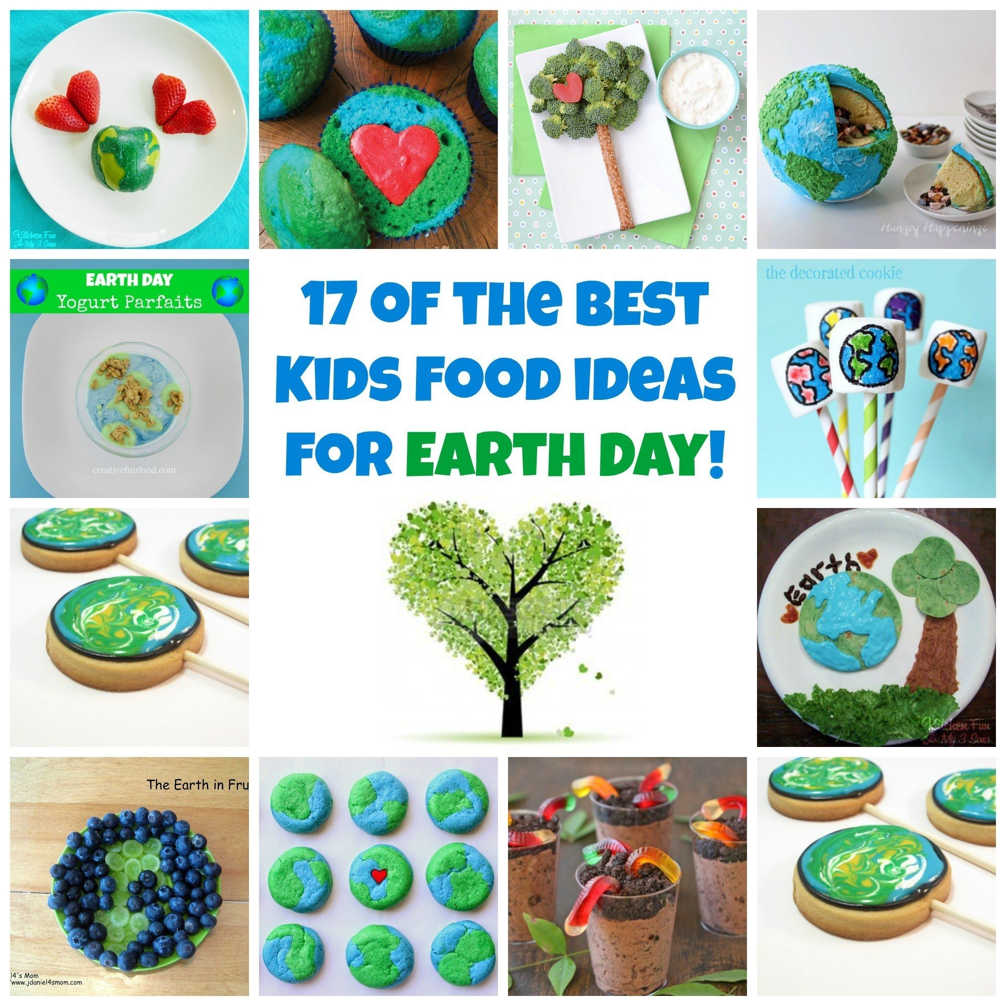 17 of the best earth day fun food & recipe ideas for kids | fun food