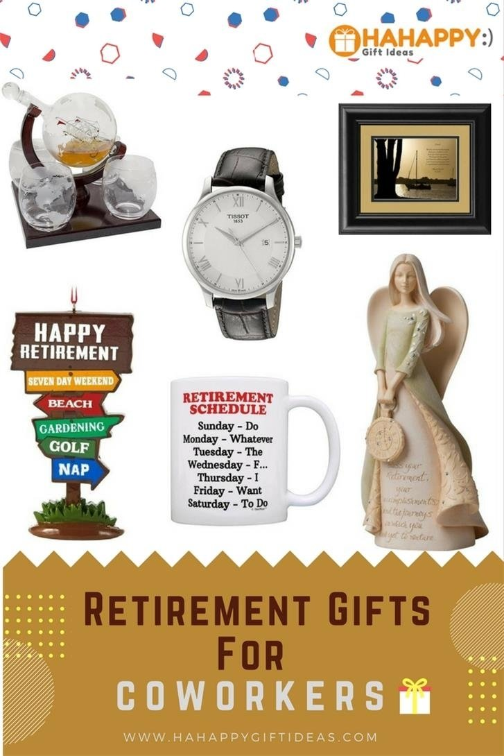 10 Elegant Retirement Gift Ideas For Women 17 retirement gifts for coworkers thoughtful fun hahappy gift ideas 2020