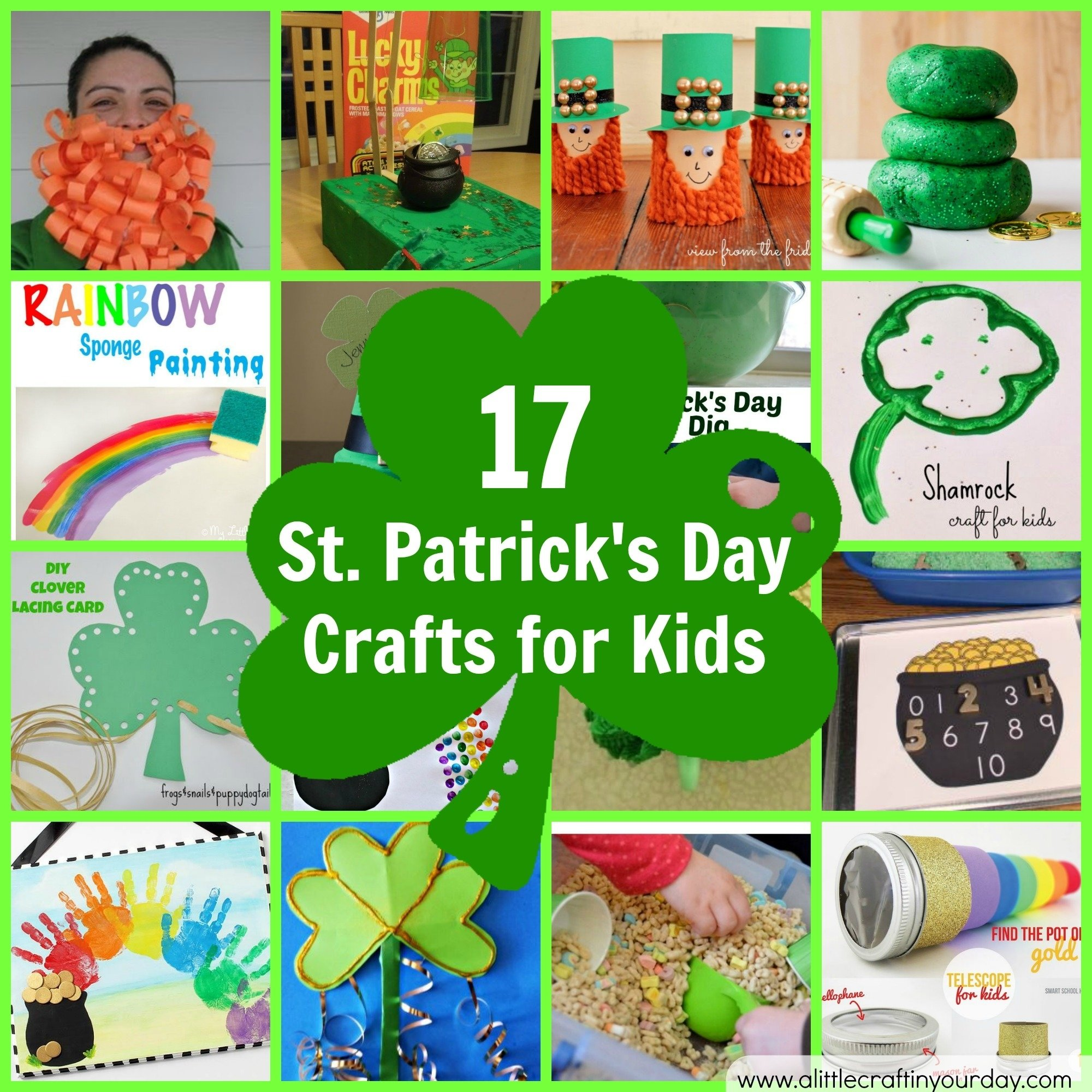 10 Lovable St Patricks Day Craft Ideas 17 st patricks day crafts for kids a little craft in your day 1 2020