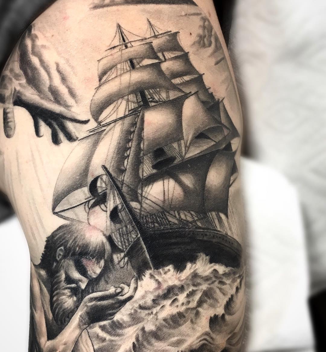 10 Ideal Arm Sleeve Tattoo Ideas For Guys %name