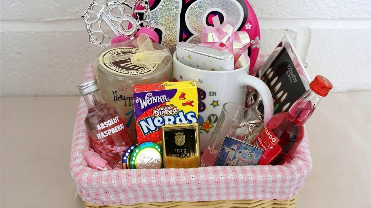 10 Most Recommended Ideas For 18Th Birthday Gift 18 birthday gift ideas for girl pinterest youtube 2 2020