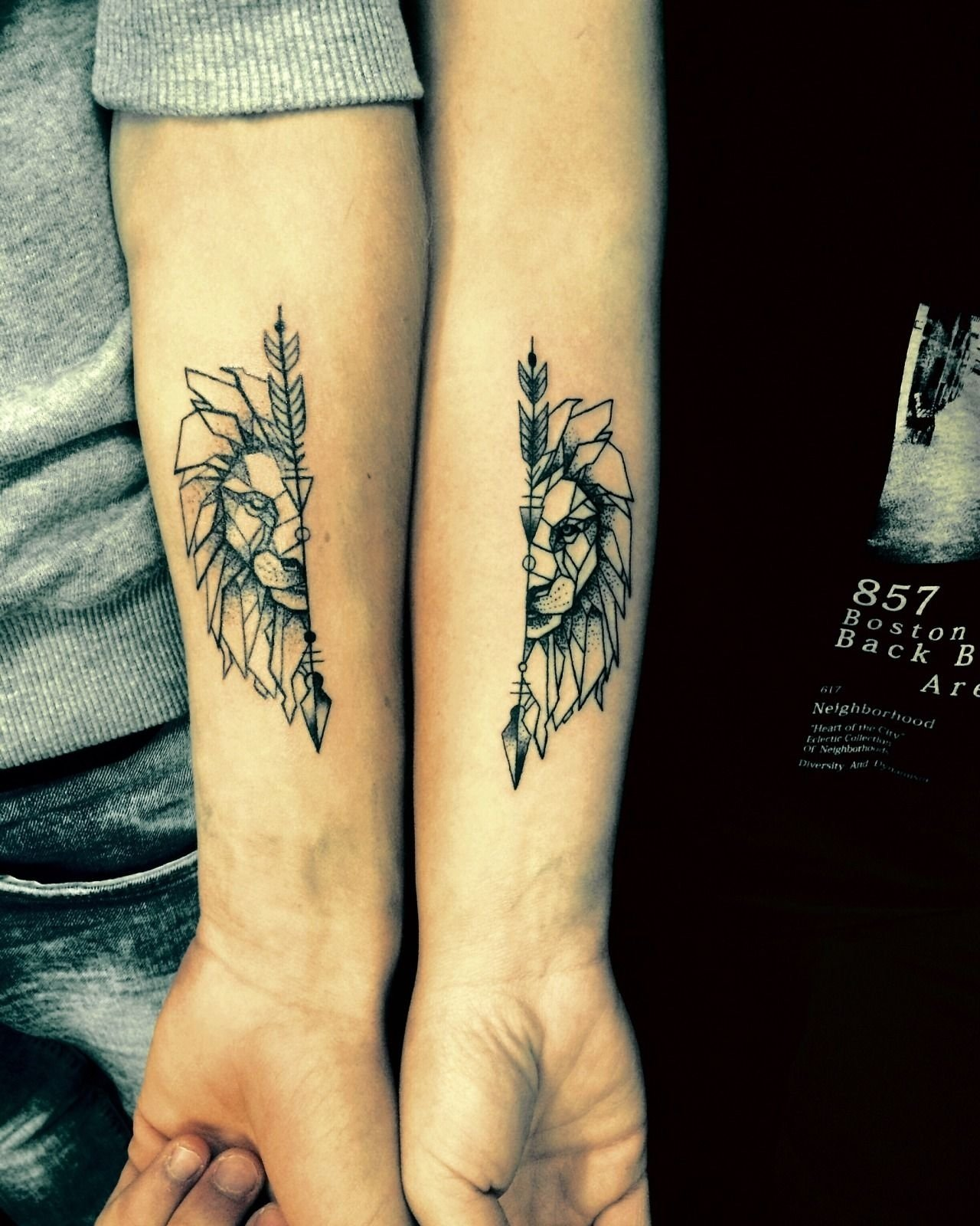 18 couple tattoo ideas that prove your love is here to stay