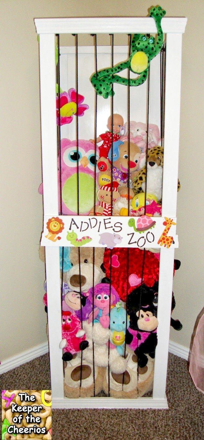 10 Spectacular Ideas For Stuffed Animal Storage 18 genius stuffed animal storage ideas 2 2021
