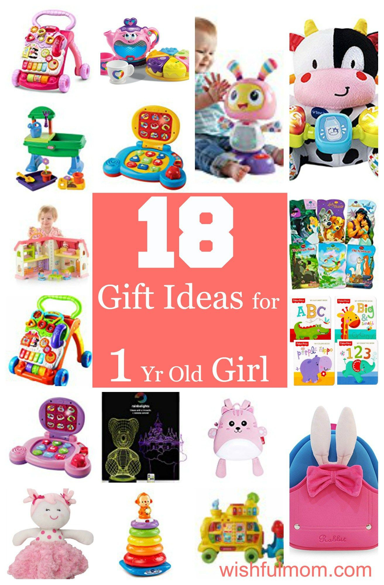 10 Lovable Gift Ideas For A 1 Year Old Girl 18 gift ideas for a one year old girl 2020