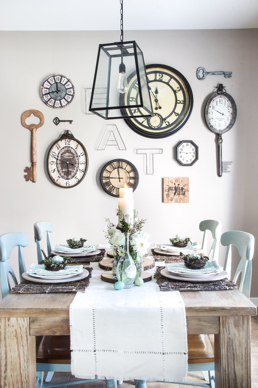 10 Trendy Wall Decor Ideas For Kitchen 18 inexpensive diy wall decor ideas blesser house throughout size 2020