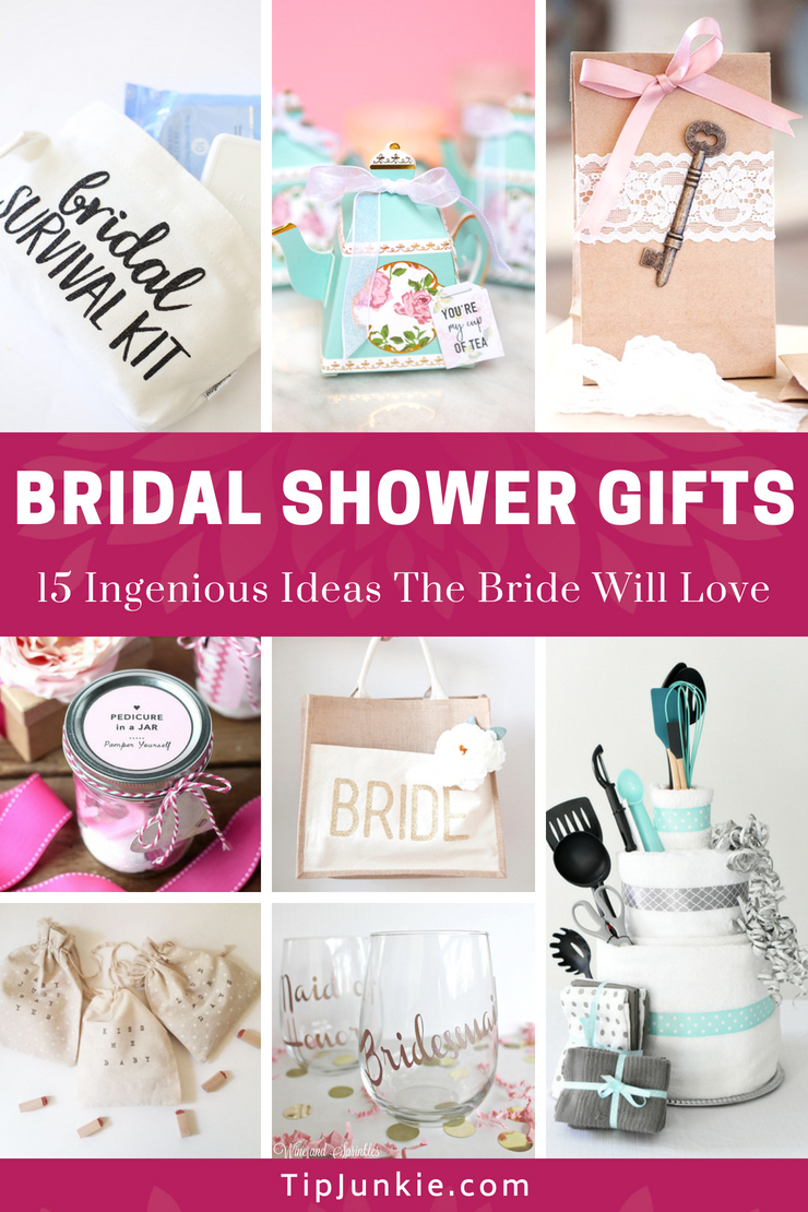 10 Perfect Unique Bridal Shower Gift Ideas For Bride 18 ingenious bridal shower gifts the bride will love tip junkie 2020